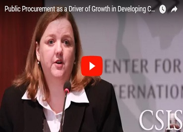 Public Procurement as a Driver of Growth in Developing Countries