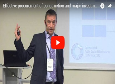 Effective procurement of construction and major investment projects