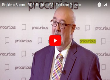 Big Ideas Summit 2016: Big Idea #38 - Find Your Passion