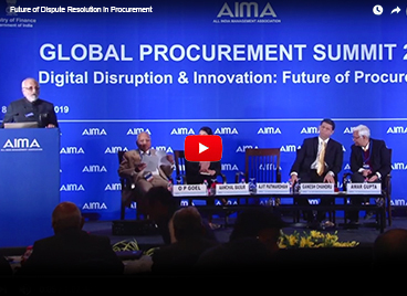 Future of Dispute Resolution in Procurement
