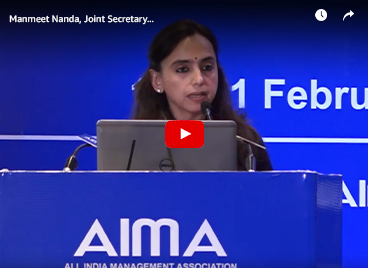 Manmeet Nanda, Joint Secretary, Department for Promotion of Industry and Internal Trade, MoCI