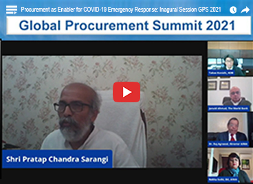 Procurement as Enabler for COVID-19 Emergency Response: Inaugural Session GPS 2021